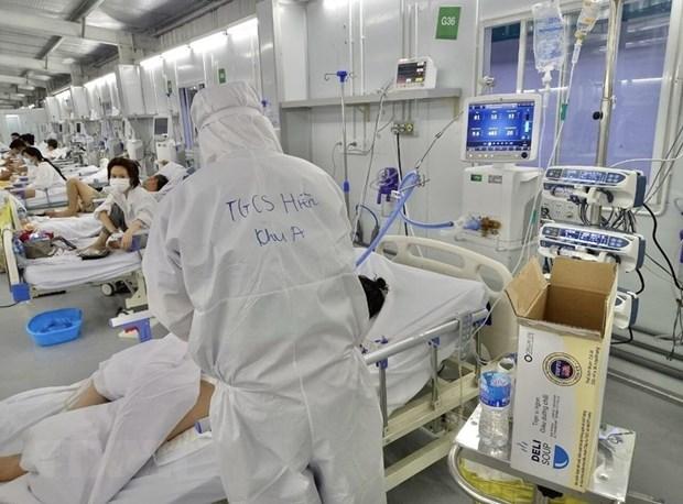 Bệnh viện Hữu nghị Việt Đức tiếp nhận và trao tặng máy tạo oxy  - Ảnh 1.