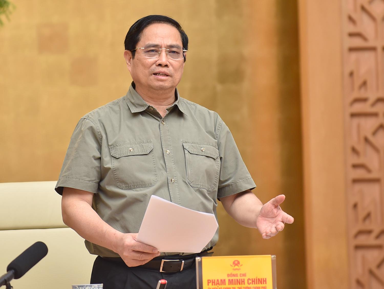 """Thủ tướng Chính phủ Phạm Minh Chính: """"Phòng dịch tốt thì không phải chống dịch"""" - Ảnh 2."""