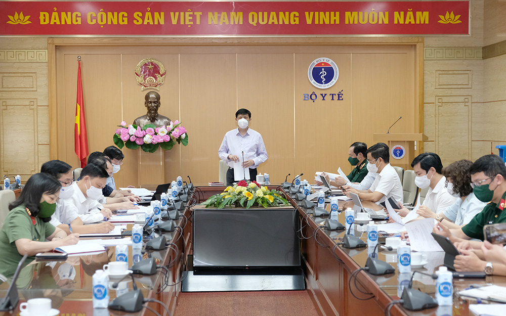Bộ trưởng Nguyễn Thanh Long: Kết hợp chặt chẽ y tế - quân đội - công an trong thực hiện nhiệm vụ chuyên môn y tế phòng chống dịch COVID-19