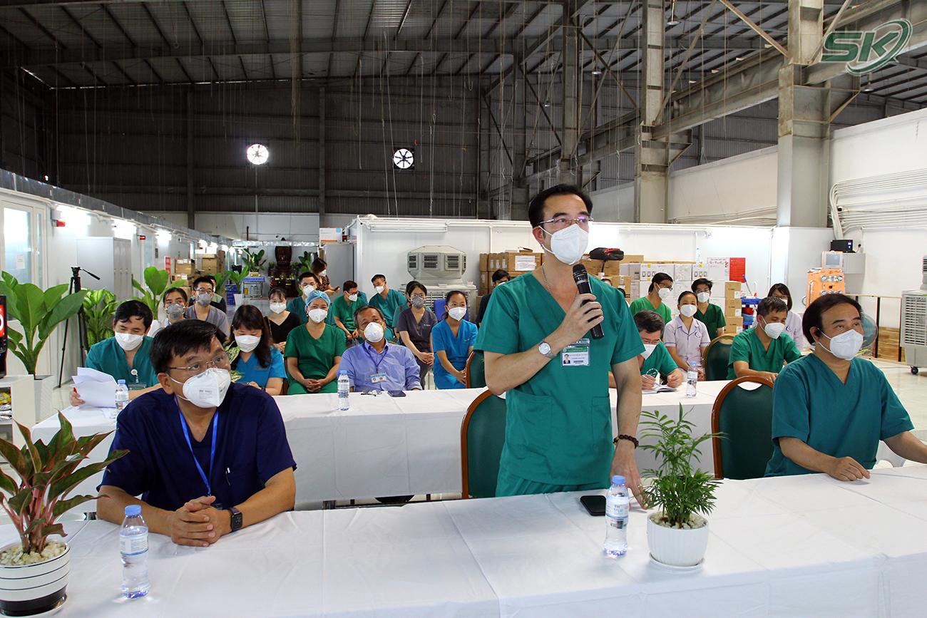 Tăng cường đào tạo, hỗ trợ chuyên môn cho các bệnh viện điều trị COVID-19 tại TP Hồ Chí Minh - Ảnh 2.