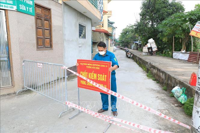Cách ly y tế tạm thời khu dân cư ở Hà Đông có ca mắc là nhân viên y tế - Ảnh 1.