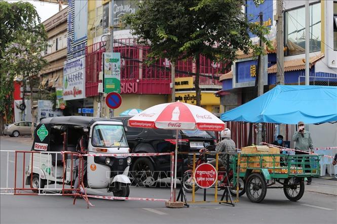 Phnom Penh duy trì nhiều biện pháp phòng dịch - Ảnh 1.