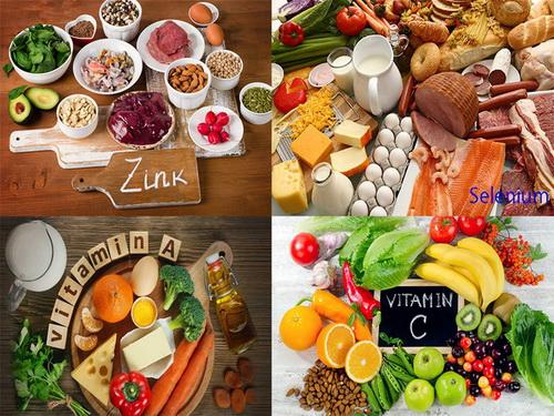 Một chế độ ăn đa dạng giúp tăng cường miễn dịch cho cơ thể.
