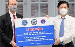 Tiếp nhận 77 tủ lạnh âm sâu bảo quản vaccine COVID-19 do Hoa Kỳ viện trợ