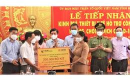 Đắk Lắk tiếp nhận kinh phí, thiết bị y tế hỗ trợ công tác phòng, chống dịch Covid-19