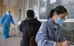 Hàng loạt bến xe tại Hà Nội dựng điểm test nhanh cho khách về quê
