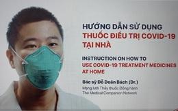 Hướng dẫn sử dụng thuốc điều trị COVID-19 tại nhà