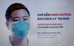 Video chỉ dẫn dinh dưỡng cho F0, F1 tại nhà