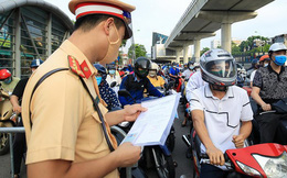 Từ 6h ngày 21/9, Hà Nội bỏ phân vùng, không kiểm soát giấy đi đường