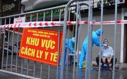 Hà Nội còn 29 điểm phong toả, gần 3.500 người cách ly phòng dịch COVID-19