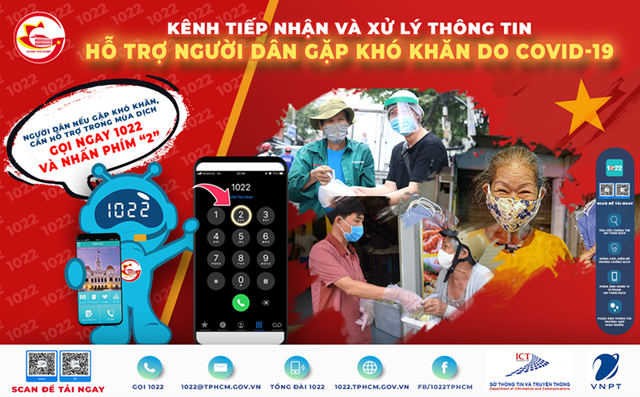 TP.HCM công bố số điện thoại để người dân gọi khi gặp khó khăn do COVID-19 - Ảnh 2.